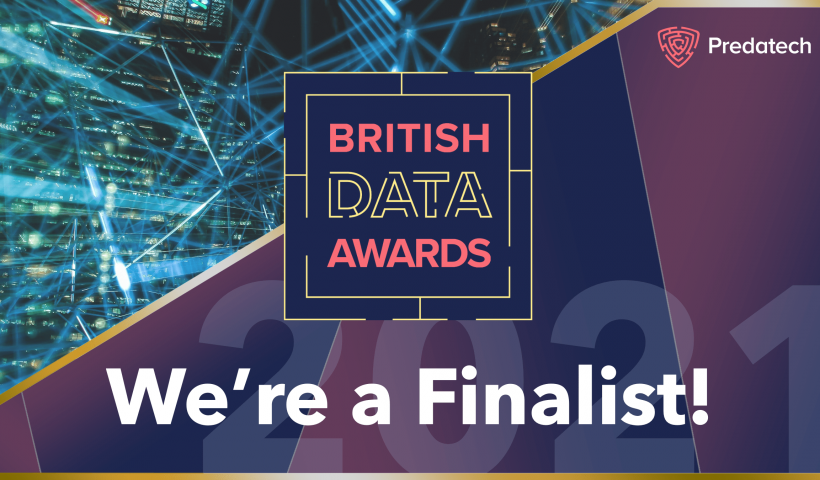 We are a British Data Awards 2021 Finalist!